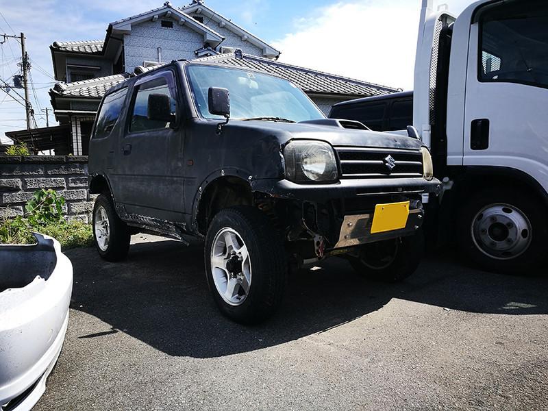 廃車高価買取、車検切れで高価買取された車.スズキ ジムニー JB23W