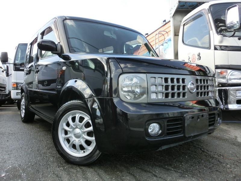 廃車高価買取、車検切れで高価買取された車.日産 キューブ BZ11