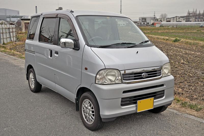 廃車高価買取、車検切れで高価買取された車.ダイハツ アトレーワゴンターボ S220G