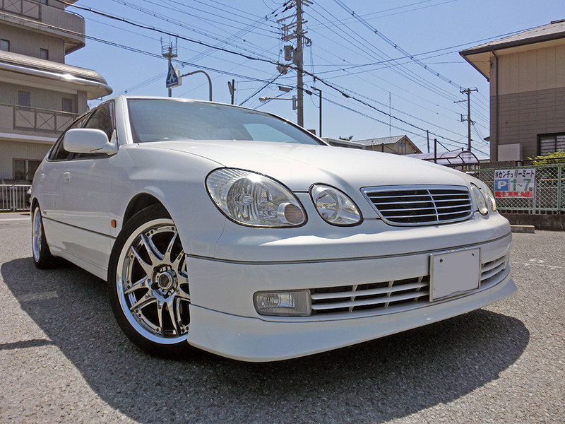 廃車高価買取、車検切れで高価買取された車.トヨタ アリストV300ベルテックス JZS161