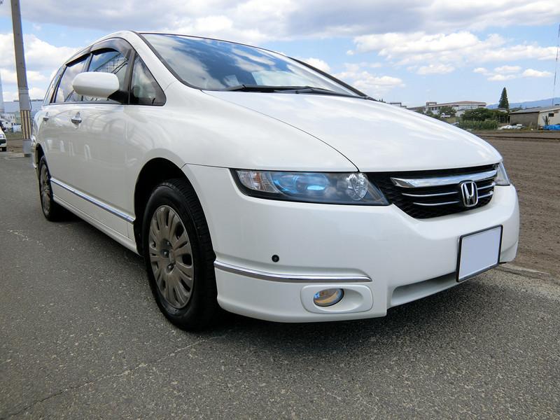 廃車高価買取、車検切れで高価買取された車.ホンダ オデッセイ