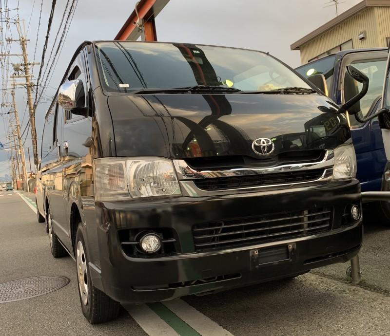 廃車高価買取、車検切れで高価買取された車.トヨタ ハイエース