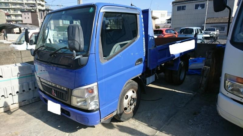 廃車高価買取、車検切れで高価買取された車.三菱 キャンターダンプ