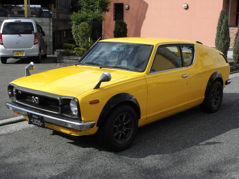 廃車高価買取、車検切れで高価買取された車.日産 チェリーX1-R