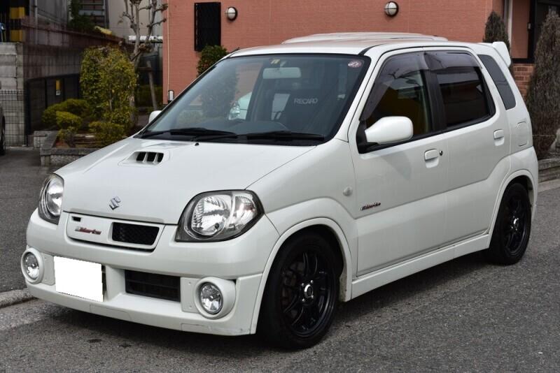 廃車高価買取、車検切れで高価買取された車.スズキ Keiワークス