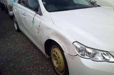 廃車高価買取、車検切れで高価買取された車.トヨタ マークX GRX130