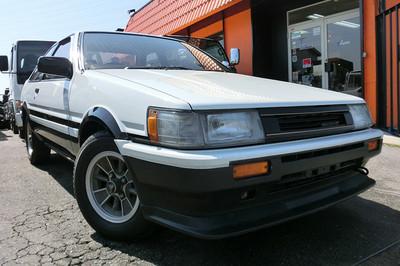 廃車高価買取、車検切れで高価買取された車.トヨタ カローラレビン AE86