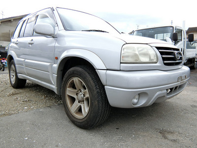 廃車高価買取、車検切れで高価買取された車.スズキ エスクード TL52W