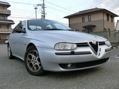 廃車高価買取、車検切れで高価買取された車.アルファ ロメオ 156 V6 2.5L