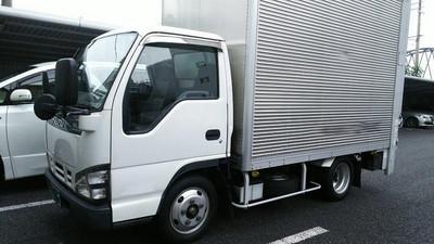 廃車高価買取、車検切れで高価買取された車.いすゞ エルフ アルミバンPG