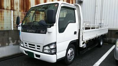 廃車高価買取、車検切れで高価買取された車.いすゞ エルフ 平ボディ 2トン