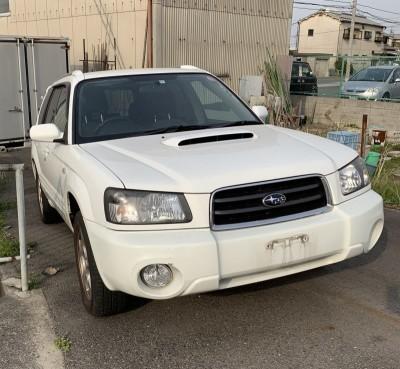 廃車高価買取、車検切れで高価買取された車.スバル フォレスター