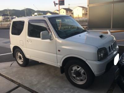 廃車高価買取、車検切れで高価買取された車.スズキ ジムニー