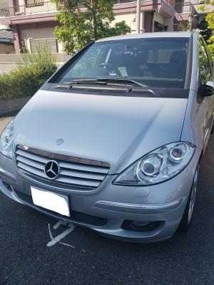 廃車高価買取、車検切れで高価買取された車.メルセデス・ベンツ A170