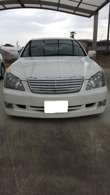 廃車高価買取、車検切れで高価買取された車.トヨタ クラウンアスリート