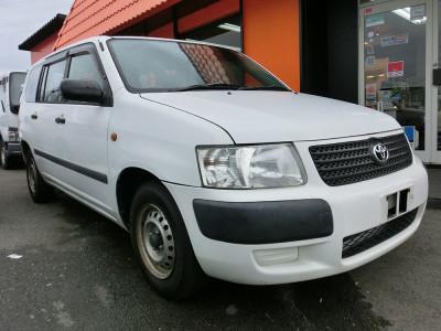廃車高価買取、車検切れで高価買取された車.トヨタ サクシードバン