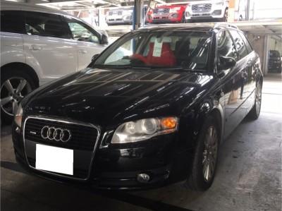 廃車高価買取、車検切れで高価買取された車.アウディ アウディA4
